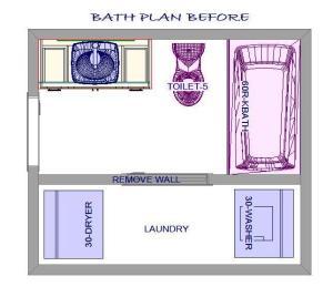 lucky main bath BEFORE